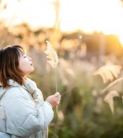 【攝影日記】冬日暖陽 邂逅蘆葦