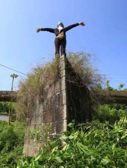 浦北再现百年榄核形古桥,就在平睦这里!