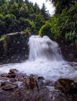 官垌大山深处藏美景,3.5公里河段竟多达7个