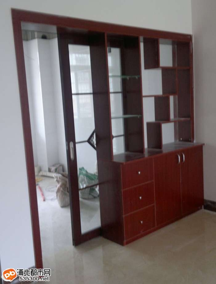 带酒柜效果图 鞋柜酒柜一体设计图 欧式鞋柜酒柜
