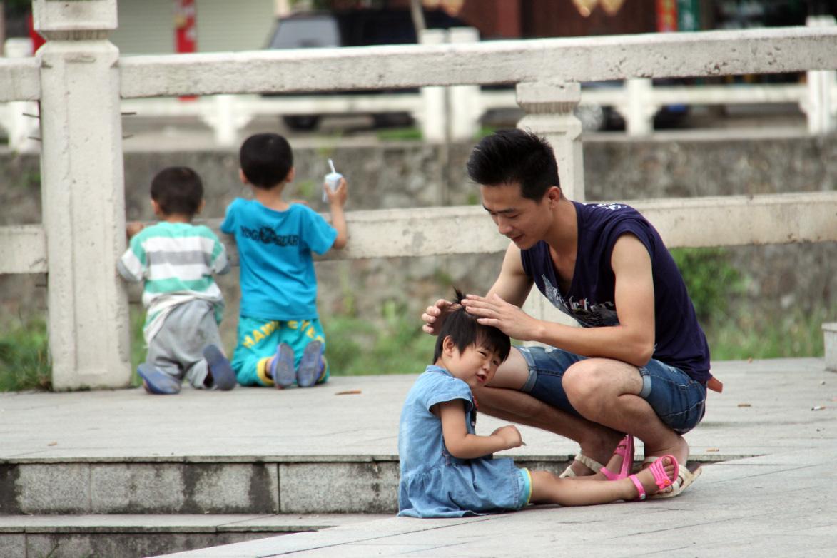 浦北纪实——男人与孩子