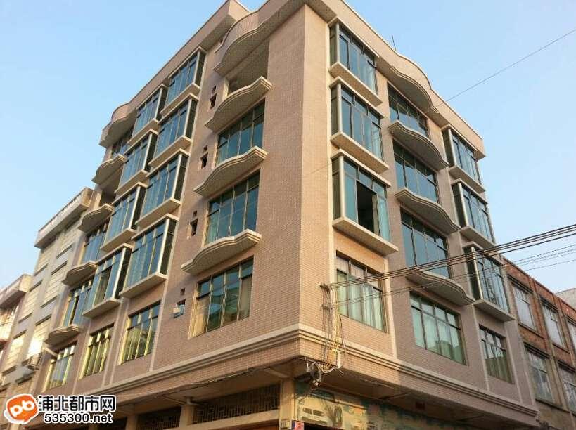 宾馆加铺面三层楼房设计图