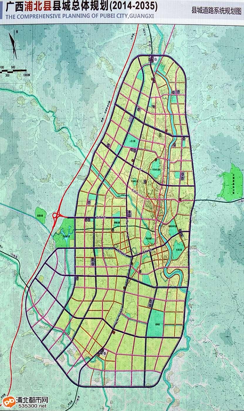 (四)县城空间结构规划图