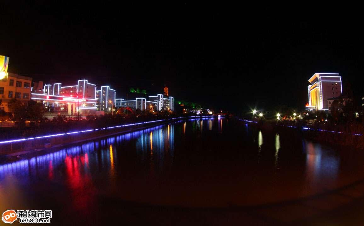 浦北文昌公园马江河