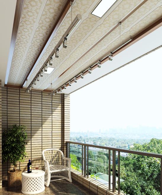 蓝姆特吊顶---客厅,过道,阳台