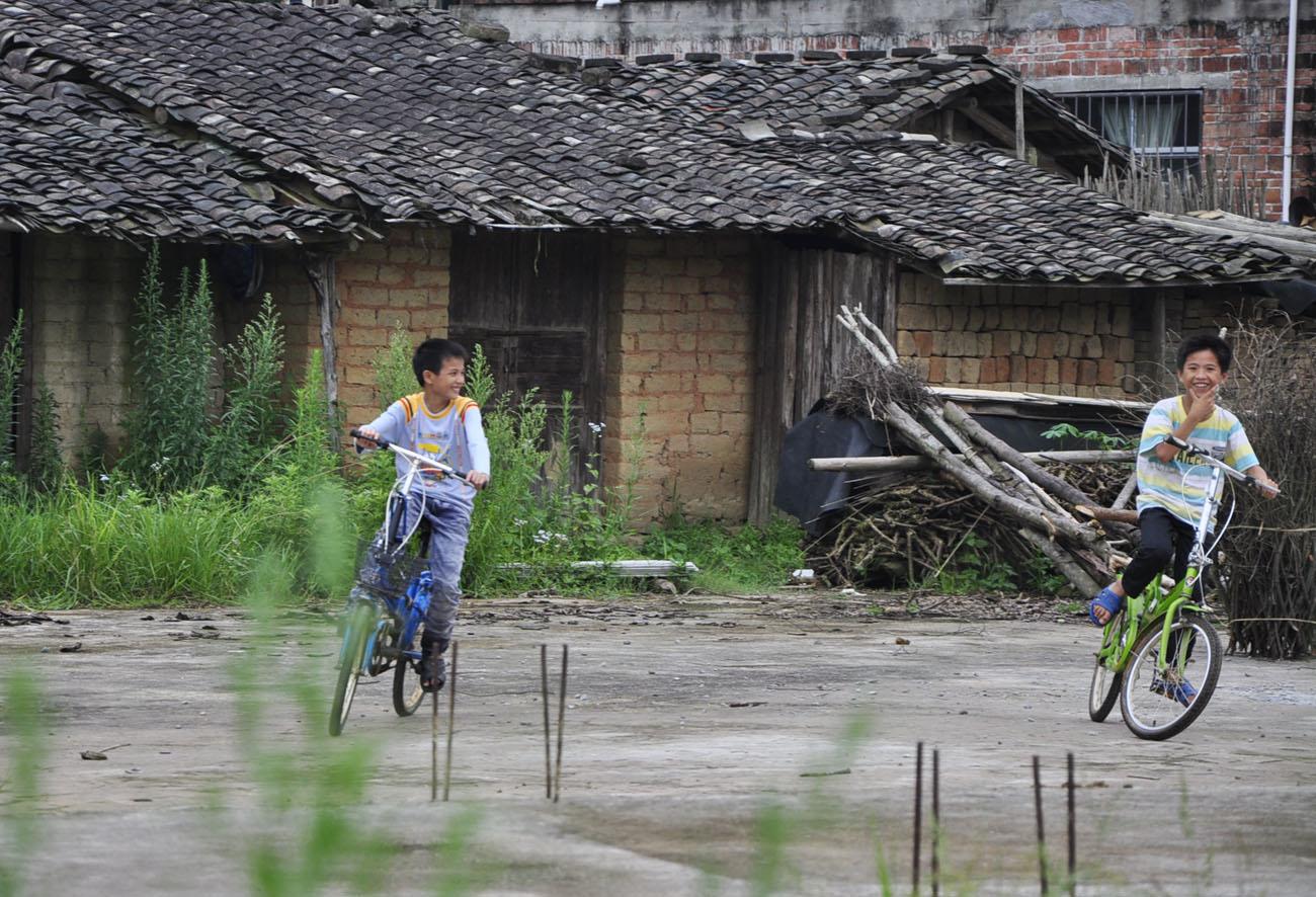 浦北县福旺镇乡下景色
