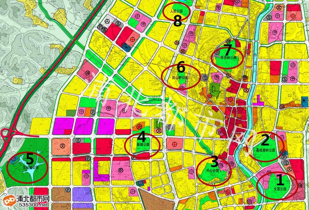 浦北将规划加建至11座公园 县城必成旅游胜地(附浦北公园规划图)