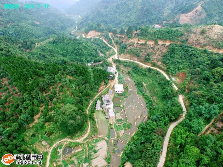 69 这些角度你从未见过:云端下的福旺和大浦北夜景  航拍浦北县城