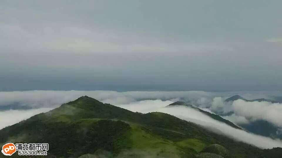《爱在古越州》微电影在五皇山拍到罕见大片啦!