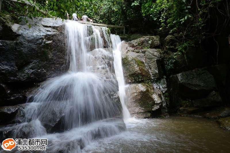 浦北五皇山能跳动的风景,有几个游客能够欣赏到?