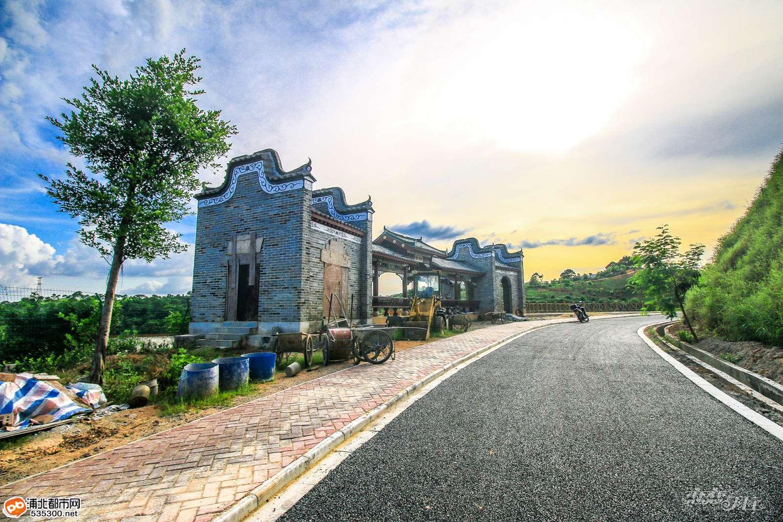 浦北1.2亿五仙湖公园初具规模,园内设施逐步完善