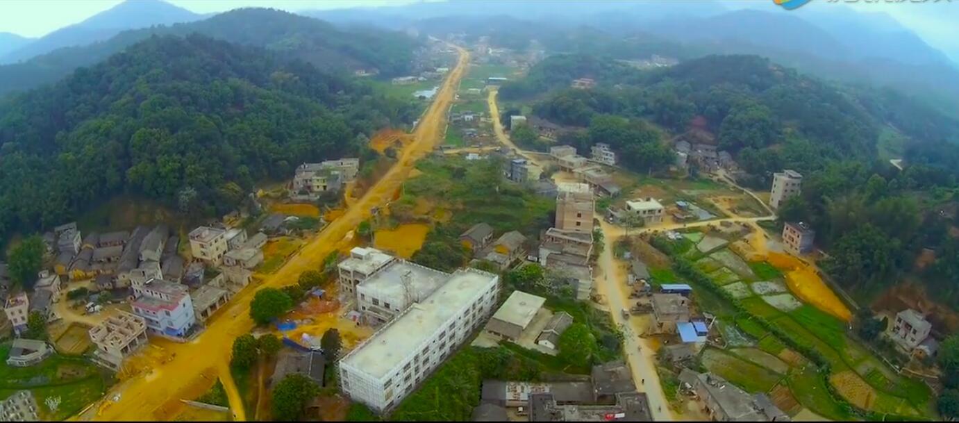 又一波乡镇航拍来袭,这次拍的是广西浦北县平睦镇