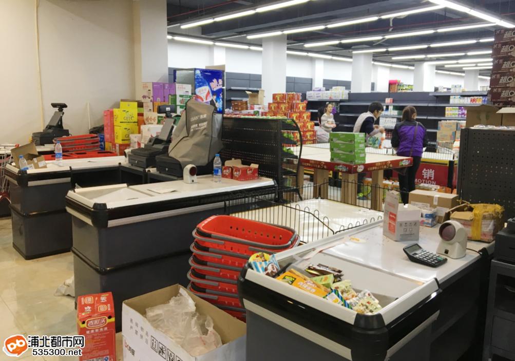浦北中佳易购超市即将开业