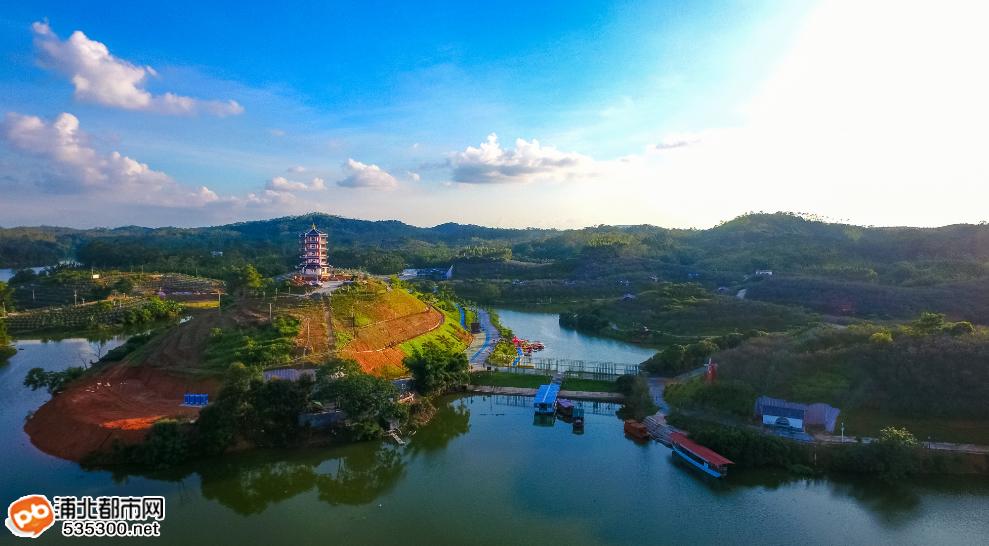 浦北越州天湖风景区
