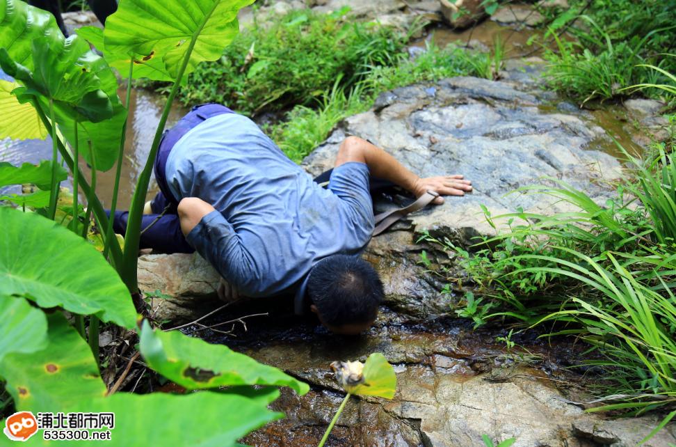 穿越五皇山原始森林山谷,探寻黄三爷土匪洞