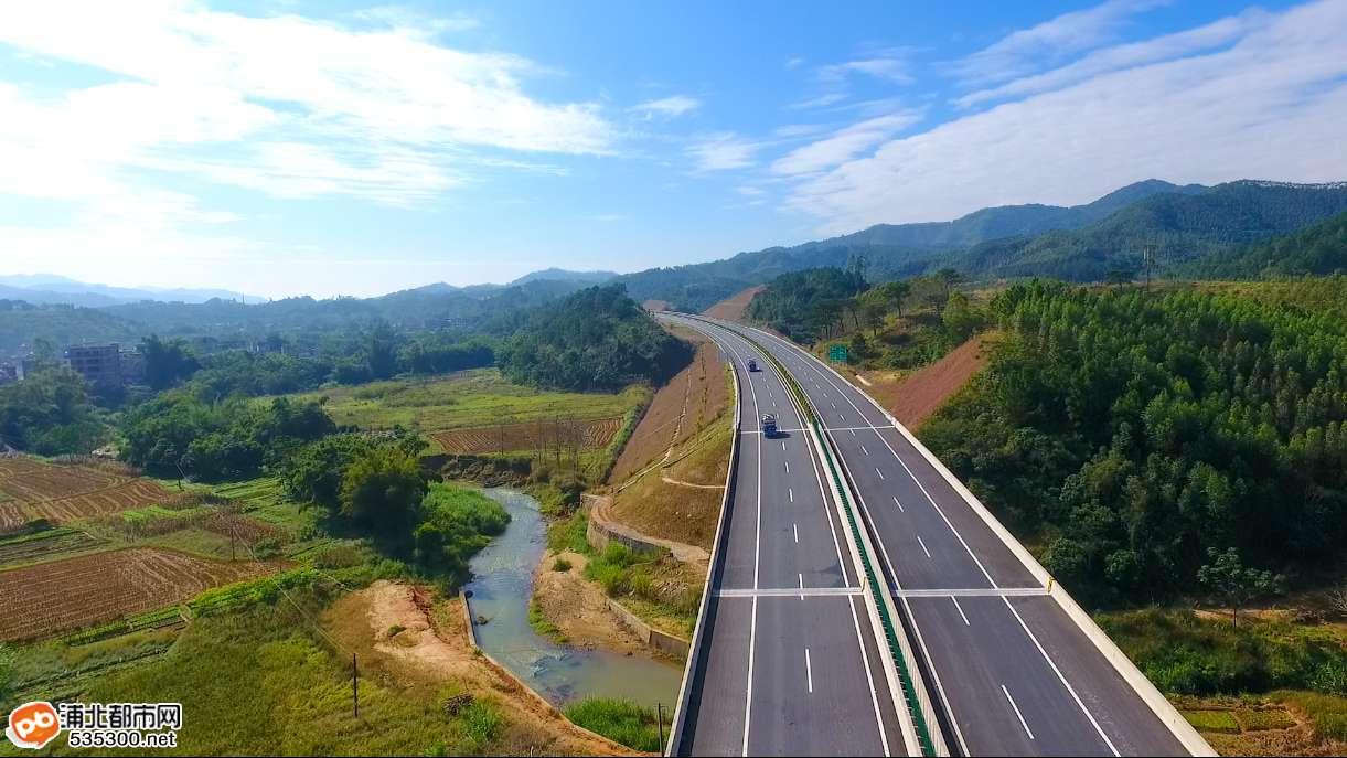 浦北县福旺贵合高速公路