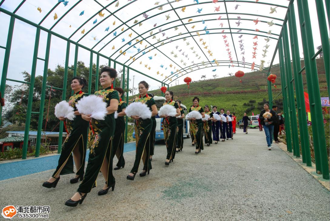 浦北越州天湖旗袍秀
