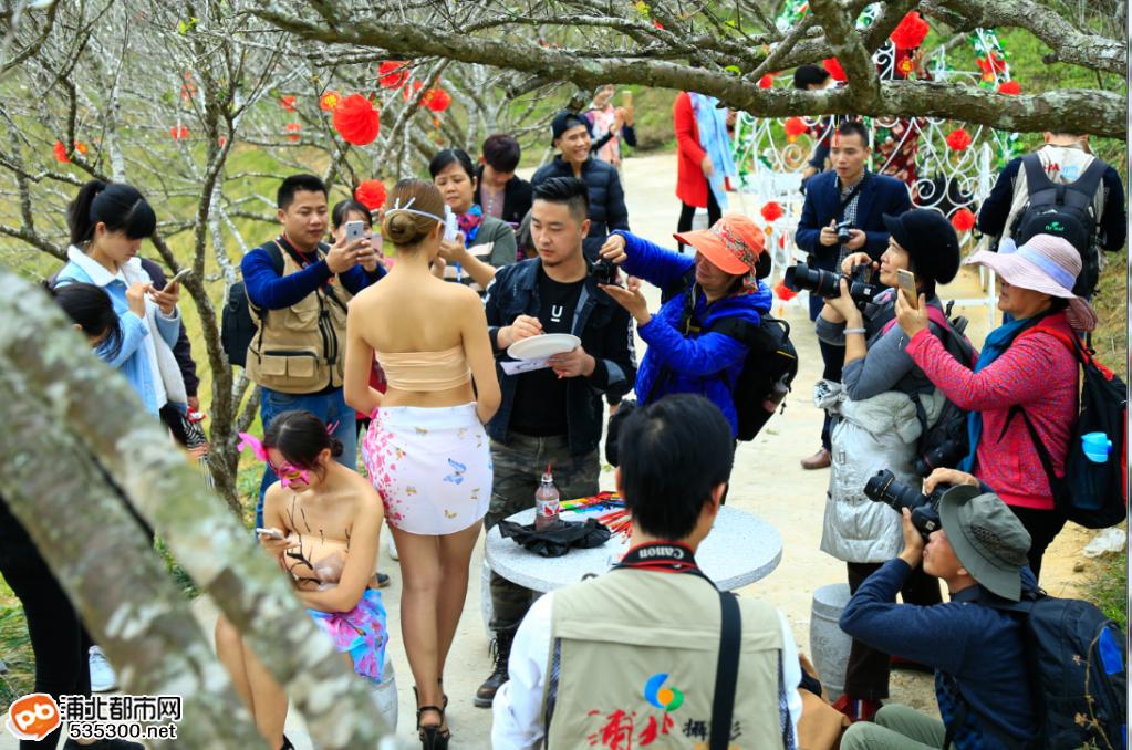 浦北越州天湖人物彩绘