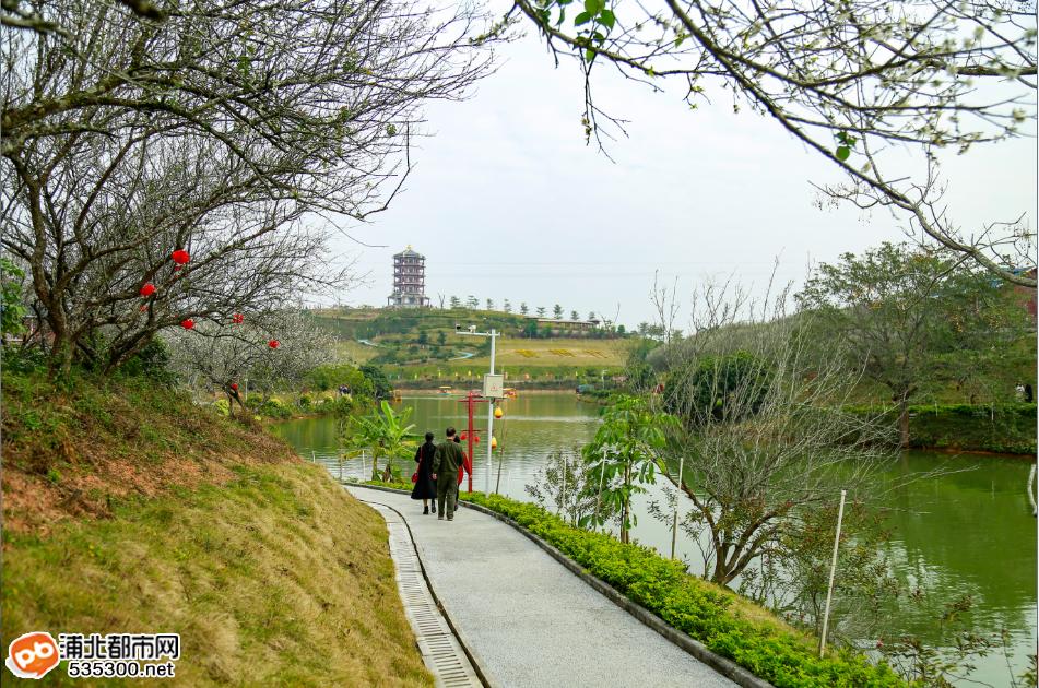 浦北越州天湖