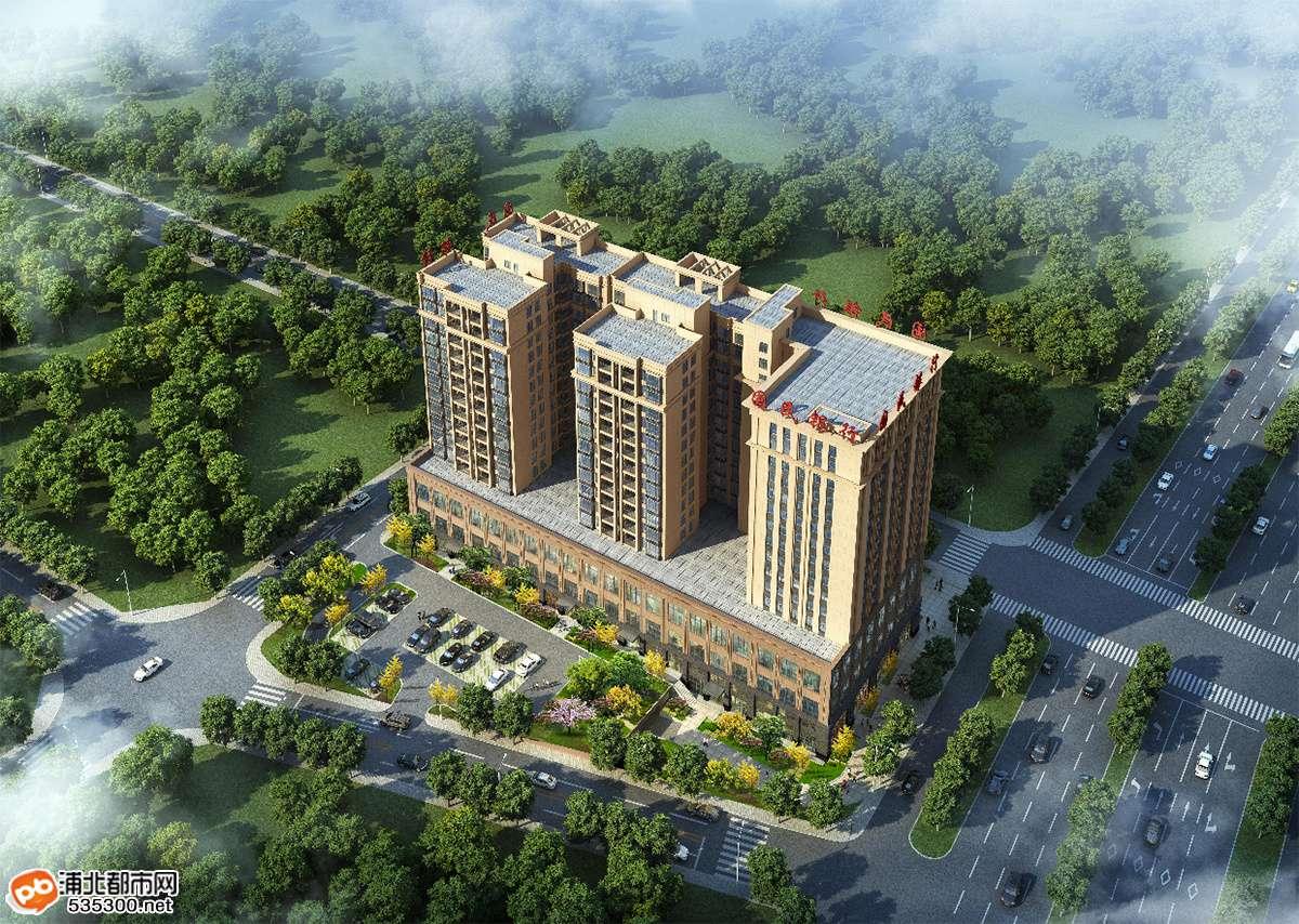 浦北国民银行大厦高品质公寓,首付1万即可拥有!
