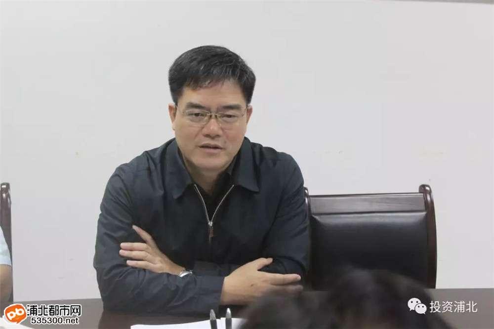 招商!四川好医生药业集团到浦北县考察