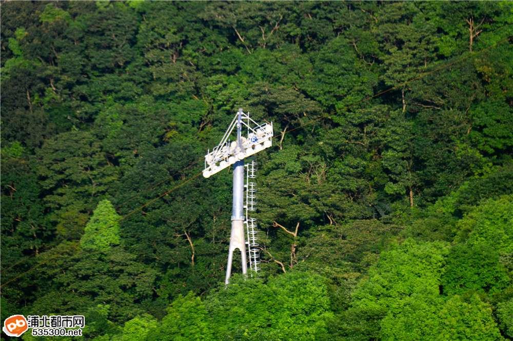 浦北五皇山观光缆车到底建得怎样了?马上带你去看看