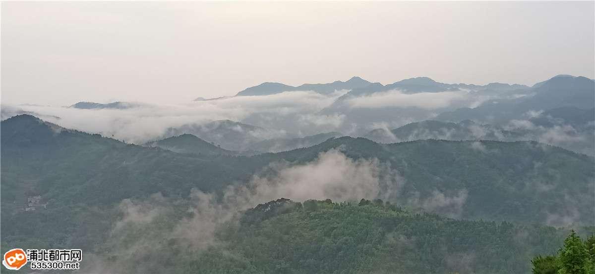 仙境?官垌大山此云雾美景只应天上有,人间哪得几回闻!