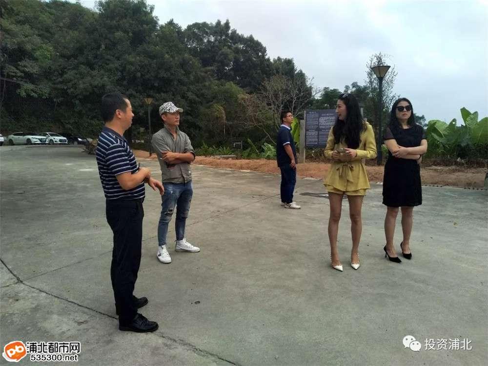 深圳童影文化传媒有限公司一行到浦北县考察洽谈