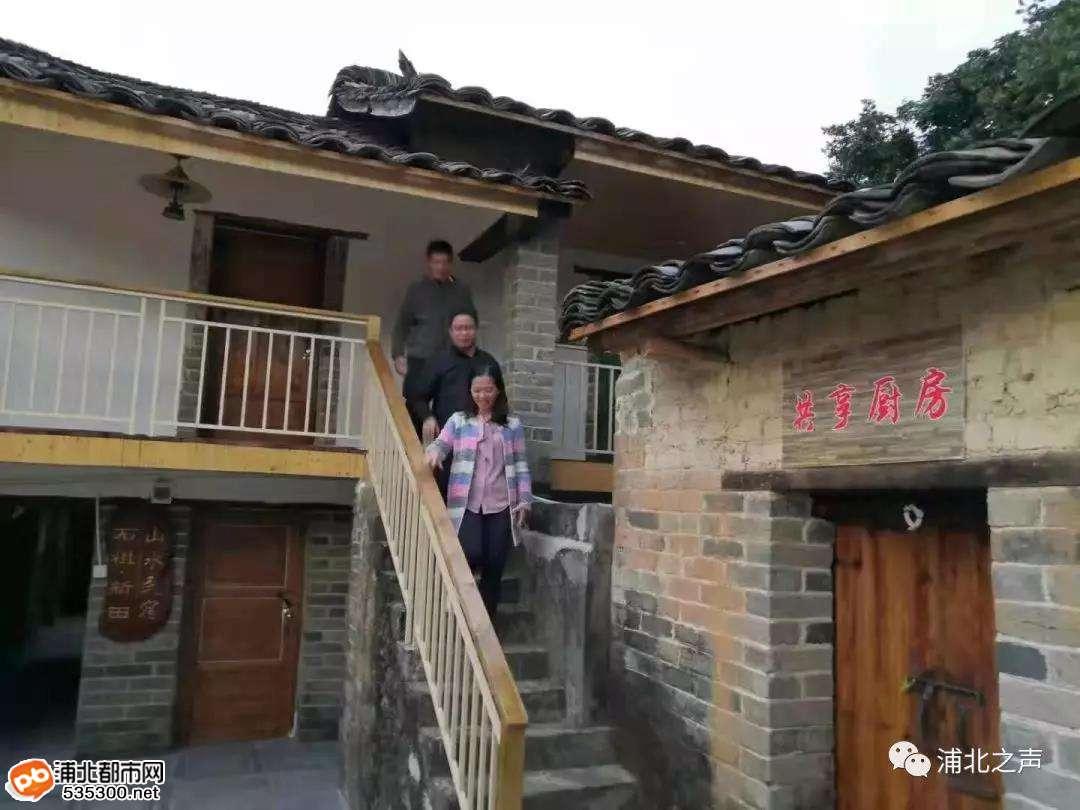 浦北新田村谋产业发展,五皇山下农民富裕国旗艳