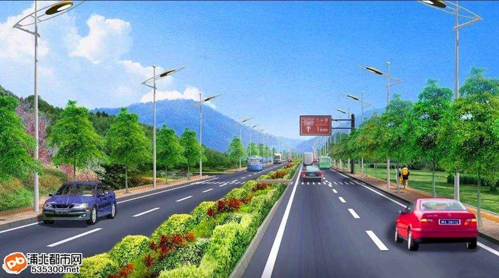 浦北将建一条直达灵山一级路,快来看看经过你家吗?
