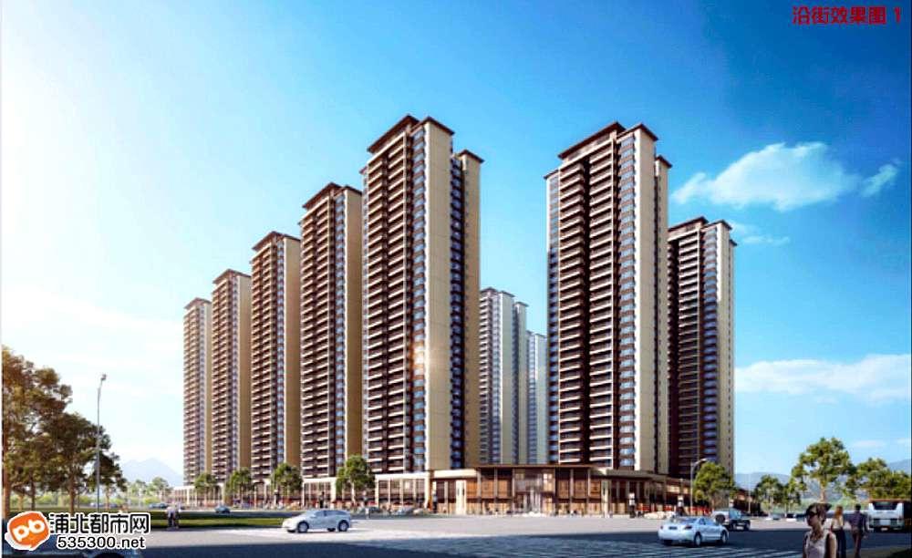 浦北这里要火!医院旁将新建15栋32层高楼,未来不可小觑