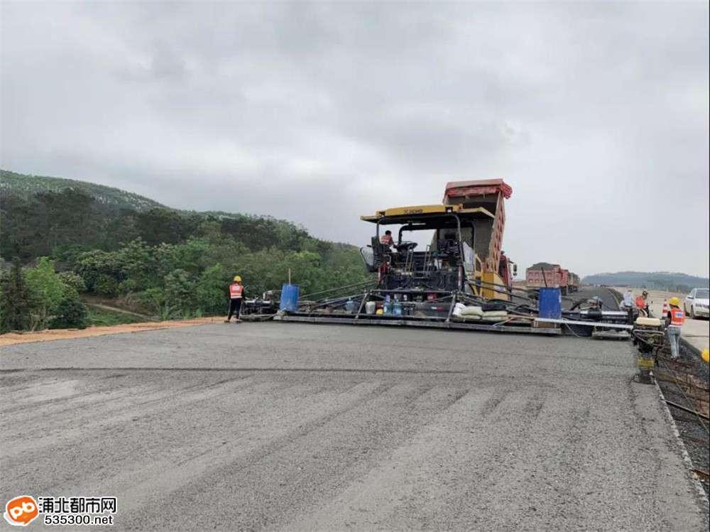 大浦高速最新进展来了!隧道、大桥、道路你想知的都有