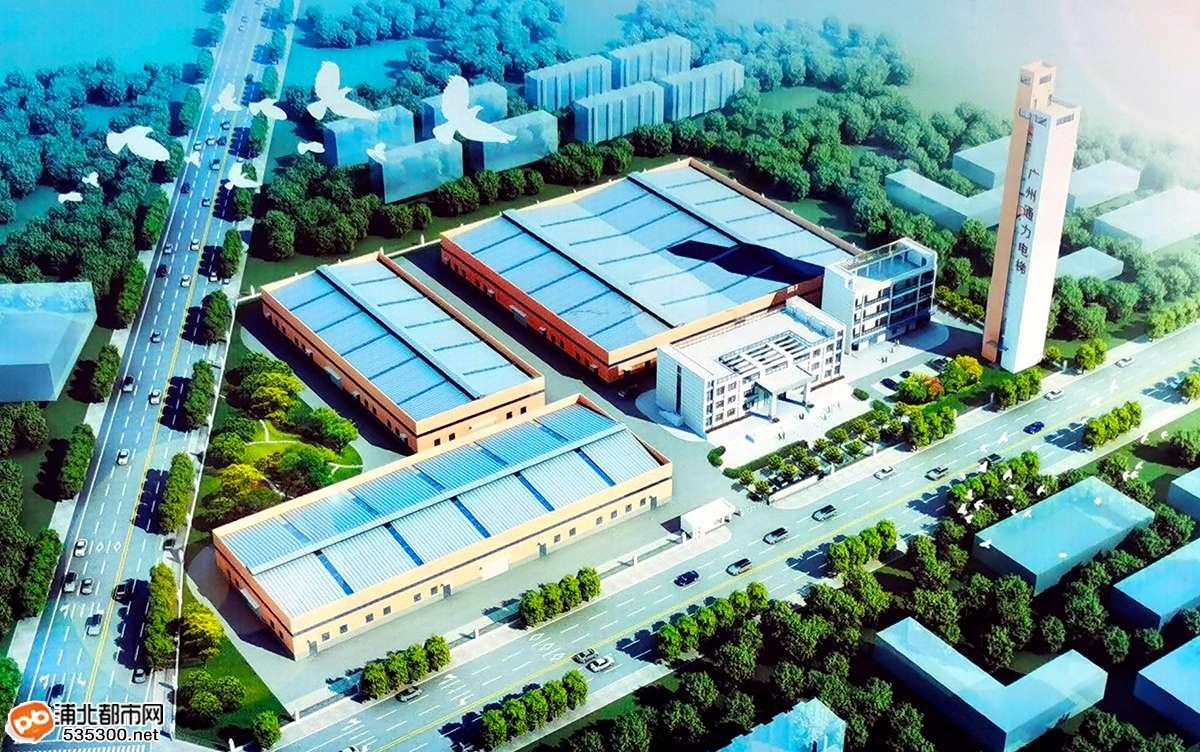 年产2000台电梯!浦北电梯生产基地最新建设进度来了!
