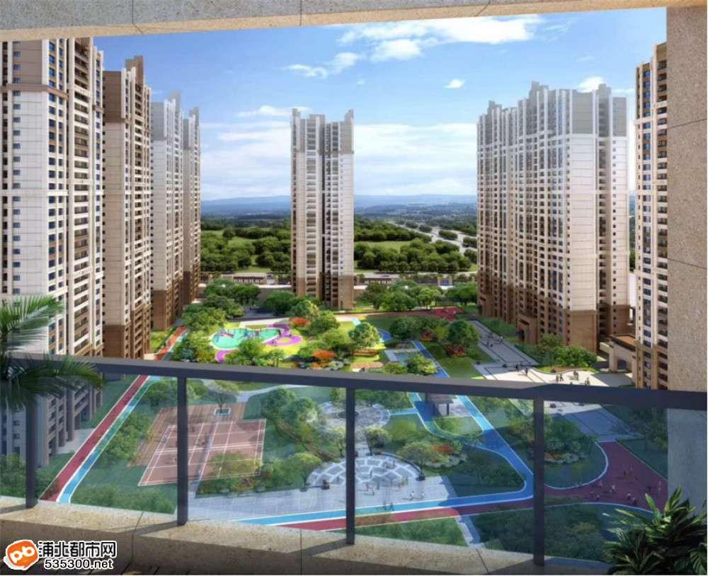 益海·现代豪庭3#央景楼王应市加推,预约5000元定房号!