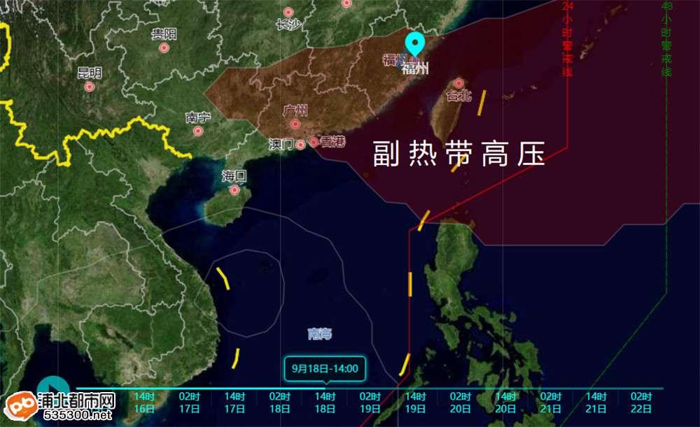 """第11号台风""""红霞""""将生成!强雷雨持续!浦北天气将……"""