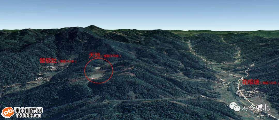 """发现浦北之美   官垌海拔370多米的山上竟有一""""天池""""!"""