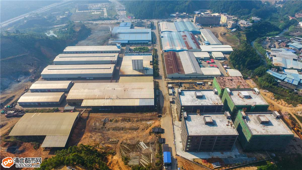 航拍 | 寨圩工业园发展建设有多快?估计你已经认不出了